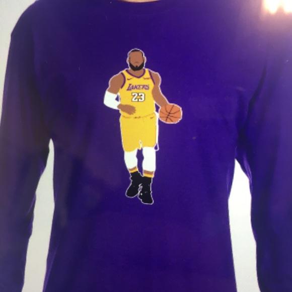 Los Angeles Lakers Lebron James Long sleeve